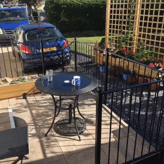 Garden balconey