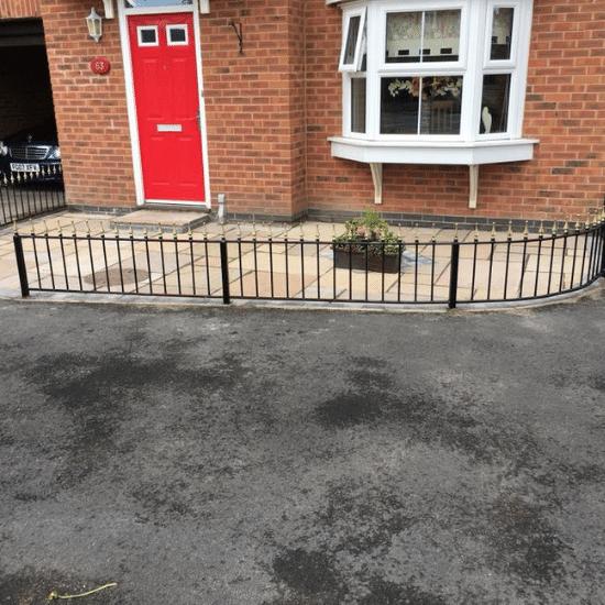 small railing